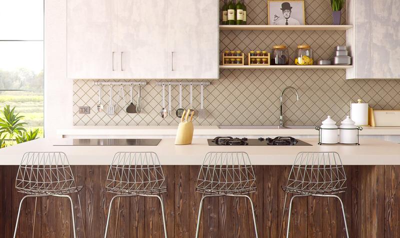 Tipos de materiales para muebles de cocina. - Pikud